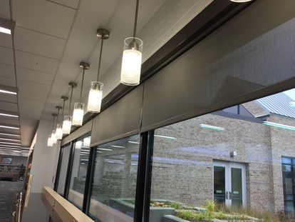 Custom Roller shades by Vermont Shade and Blind