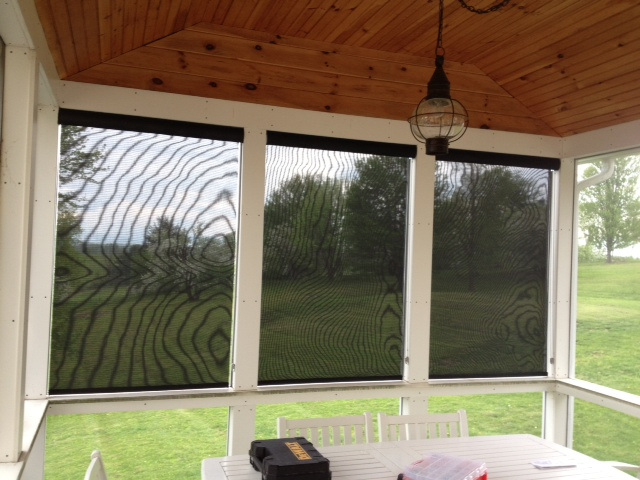 5% Exterior Solar shades in New Haven