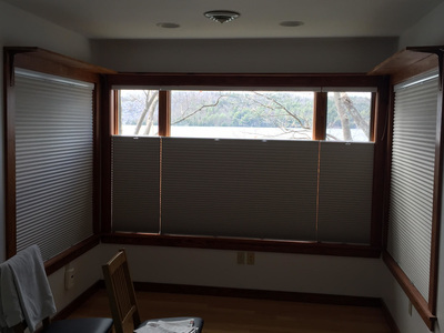 light blocking insulated window treatments