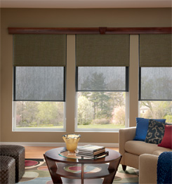 opaque and sheer window treatments
