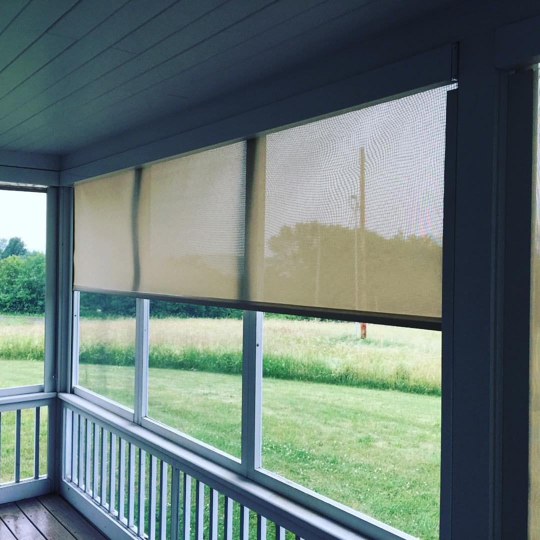 Exterior Shades and Awnings - Vermont Shade & Blind