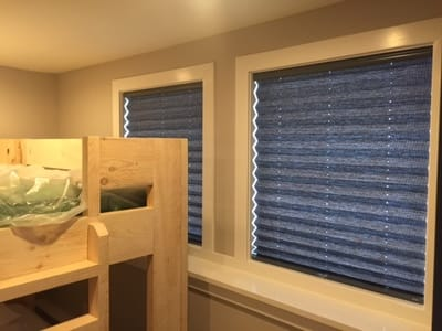 light blocking folding window shades